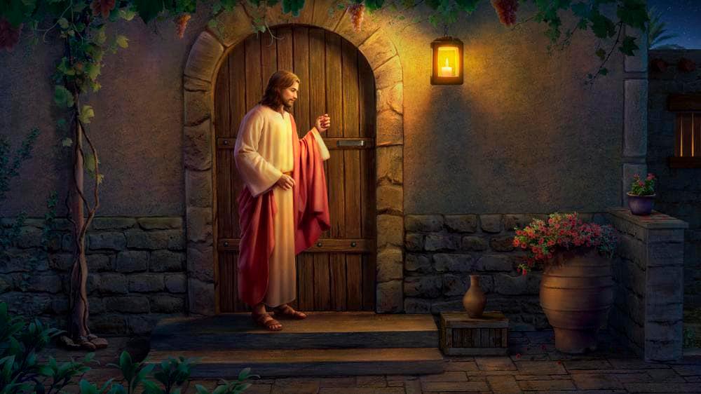 Притча про Иисуса, Стучащего в Твою Дверь