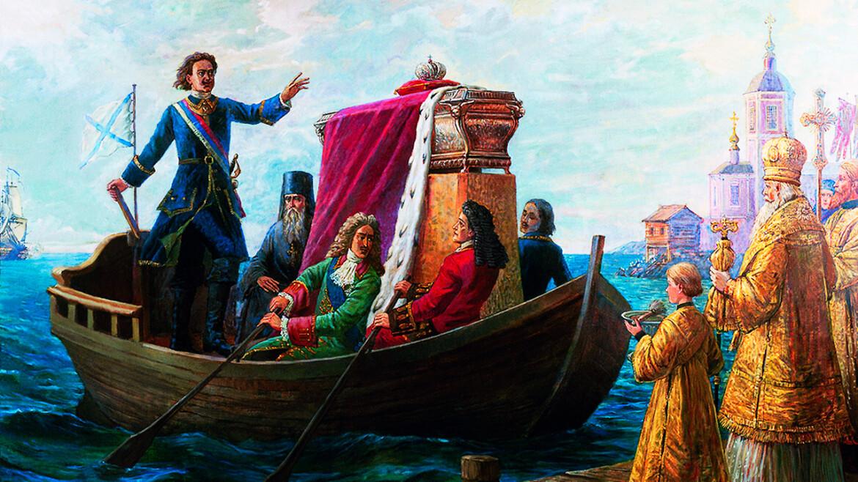 Притча про Царя Петра Первого, Священника и Житейскую Мудрость...