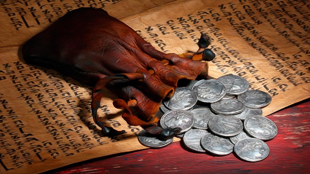 """Забавная Притча про Иуду, Христа и Предательство... """"30 Сребренников"""""""