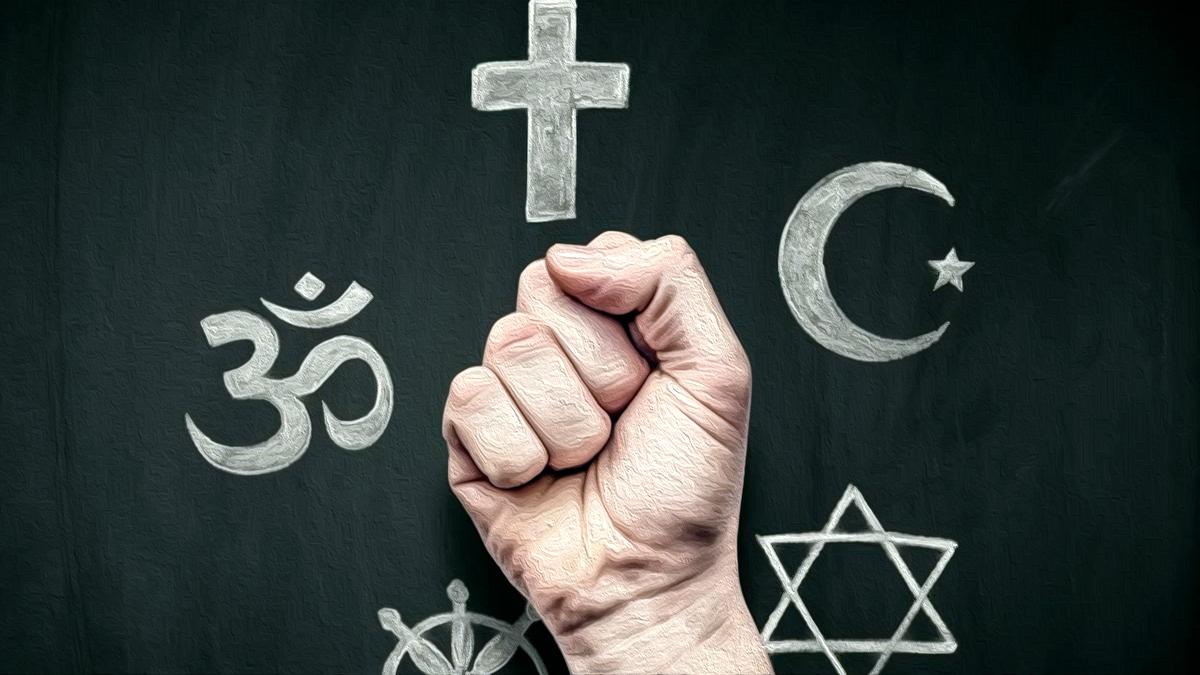 """Притча про Веру, Церковь и Дьявола... """"Кто Главный в Религии"""""""