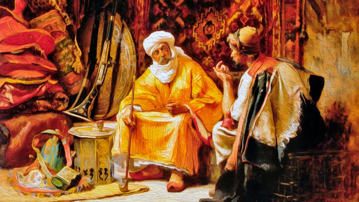 """Притча про Гостей, Назойливость и Обузу... """"Падишах и Дервиш"""""""