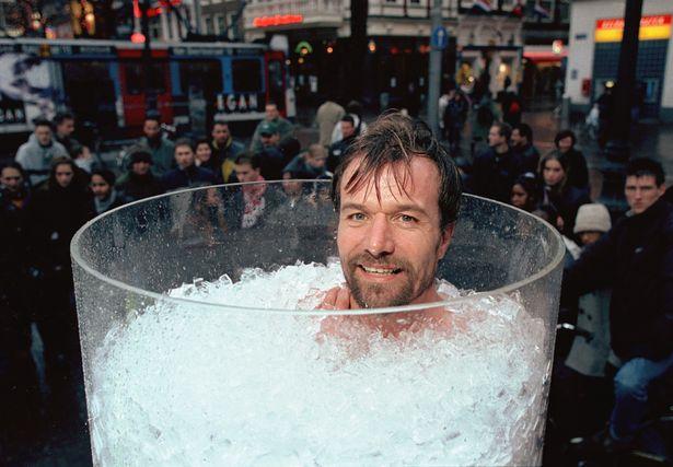 Wim Hof - ледяная ванна