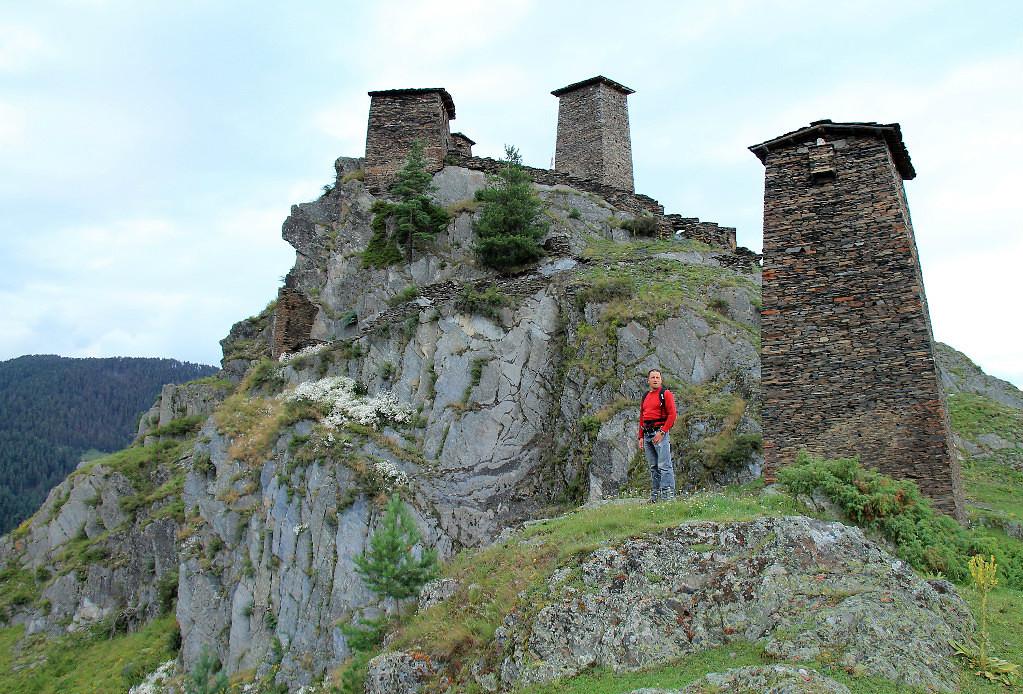 Башни горцев в Тушетии