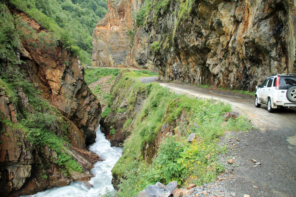 Однажды в Грузии: Дорога в Тушетию