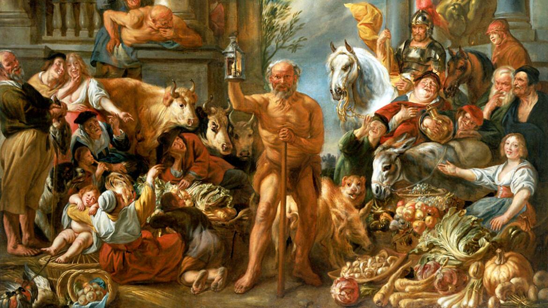 Смешная Притча про Философию, Свободу, Рабство и Диогена