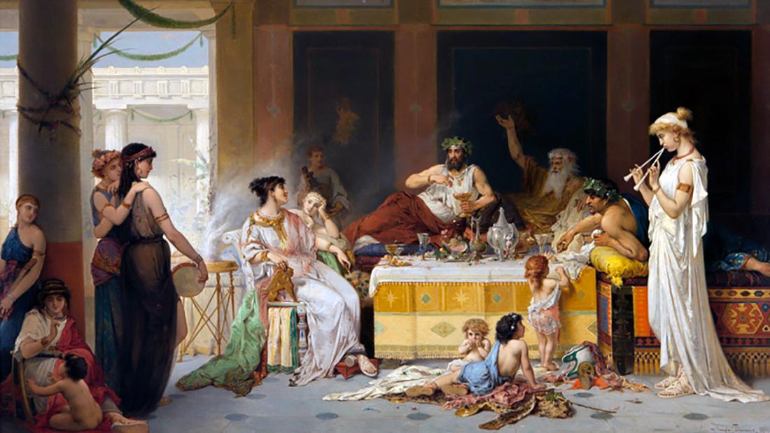 Притча про Роскошь, Удовольствия, Философию и Мудрость Жизни...